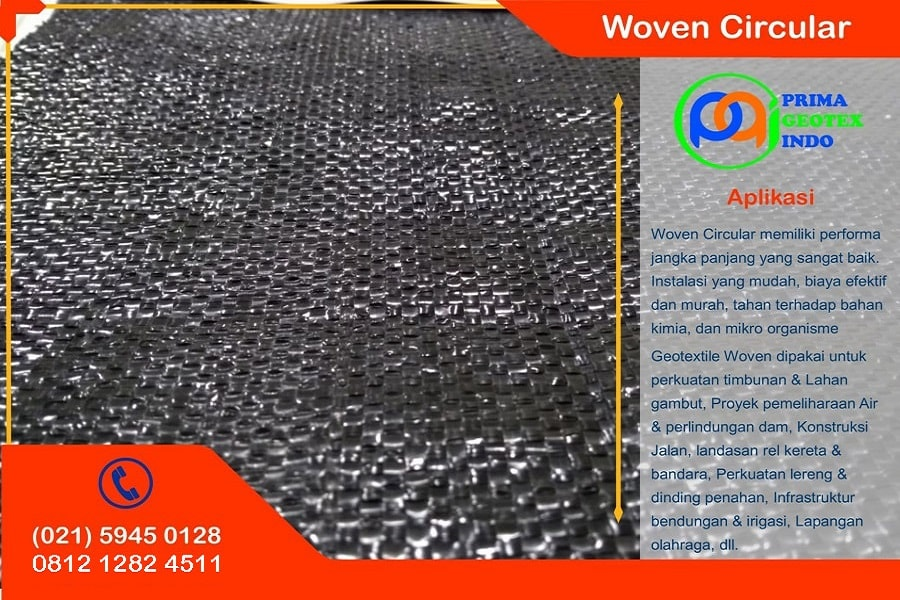 harga geotaxtile woven circular