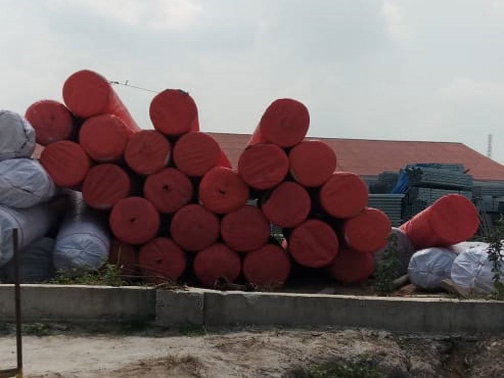 pengiriman geotextile PT Prima Geotex Indo ke Dumai Riau