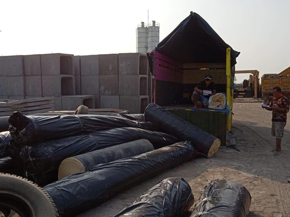 pengiriman geotextile pangandaran