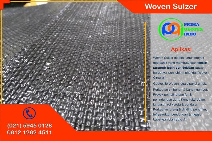 harga geotextile woven sulzer